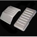 Billet Gas & Brake Pedal Covers-RZR