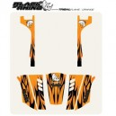 BRP Tribal Flame Body Graphics-Rhino